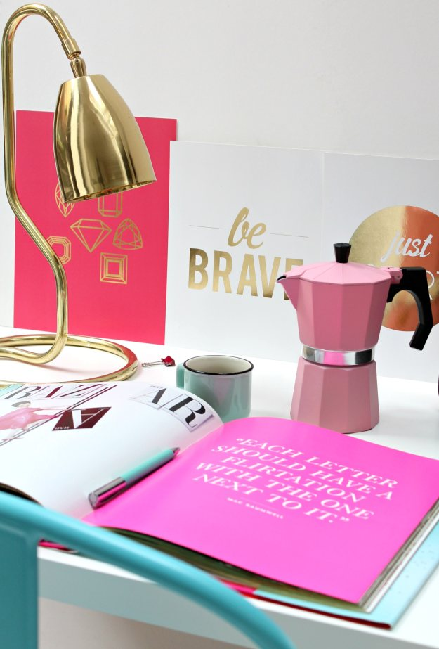 Girly-glamour-work-space-by-Geraldine-Tan-of-Little-Big-Bell-blog