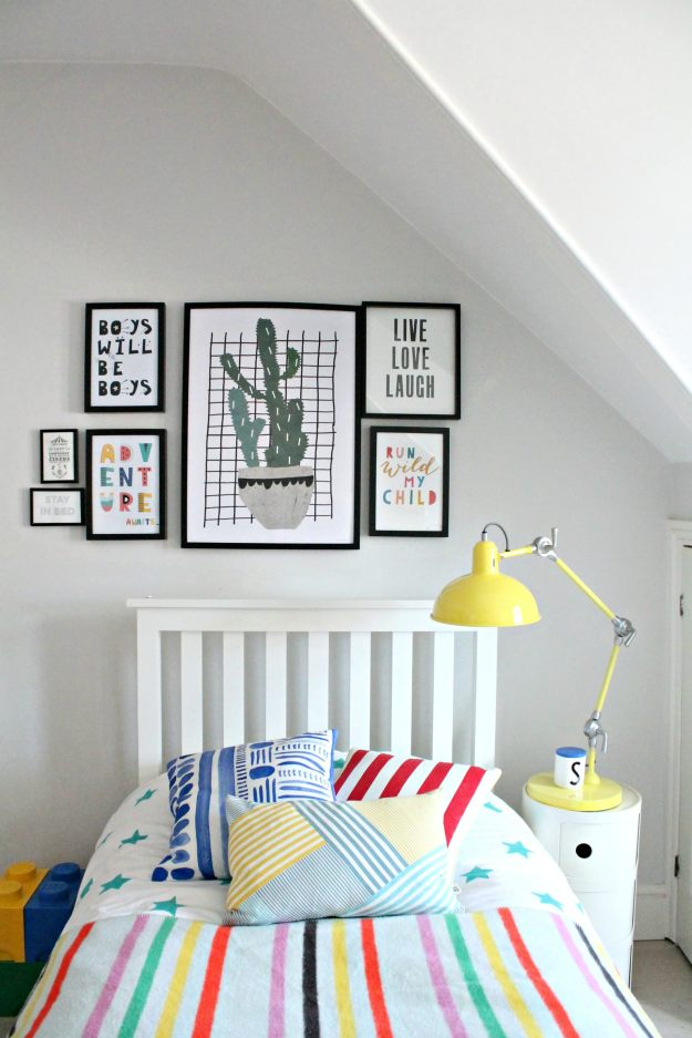 kid's room on a budget