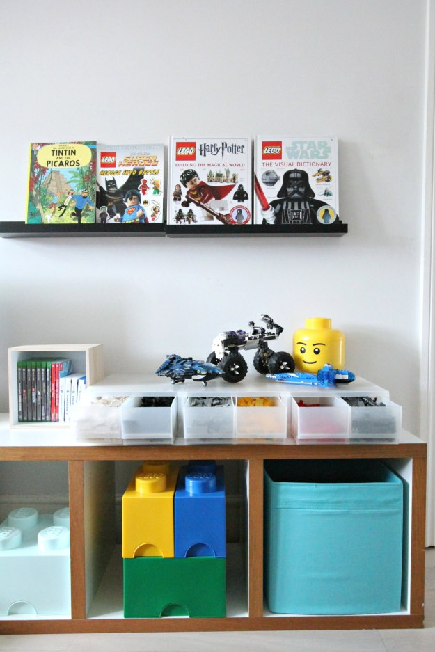 decluttering and kids room toy storage