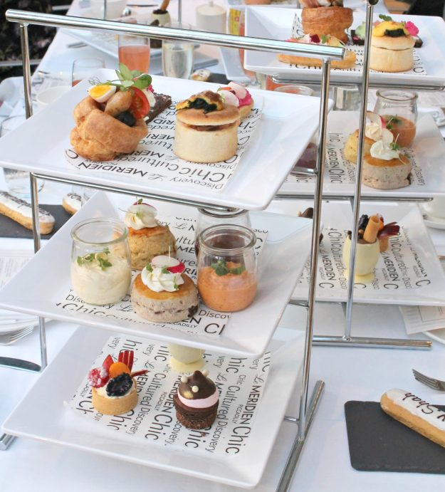 Brunch afternoon tea B'NT at Le Meridien Piccadilly