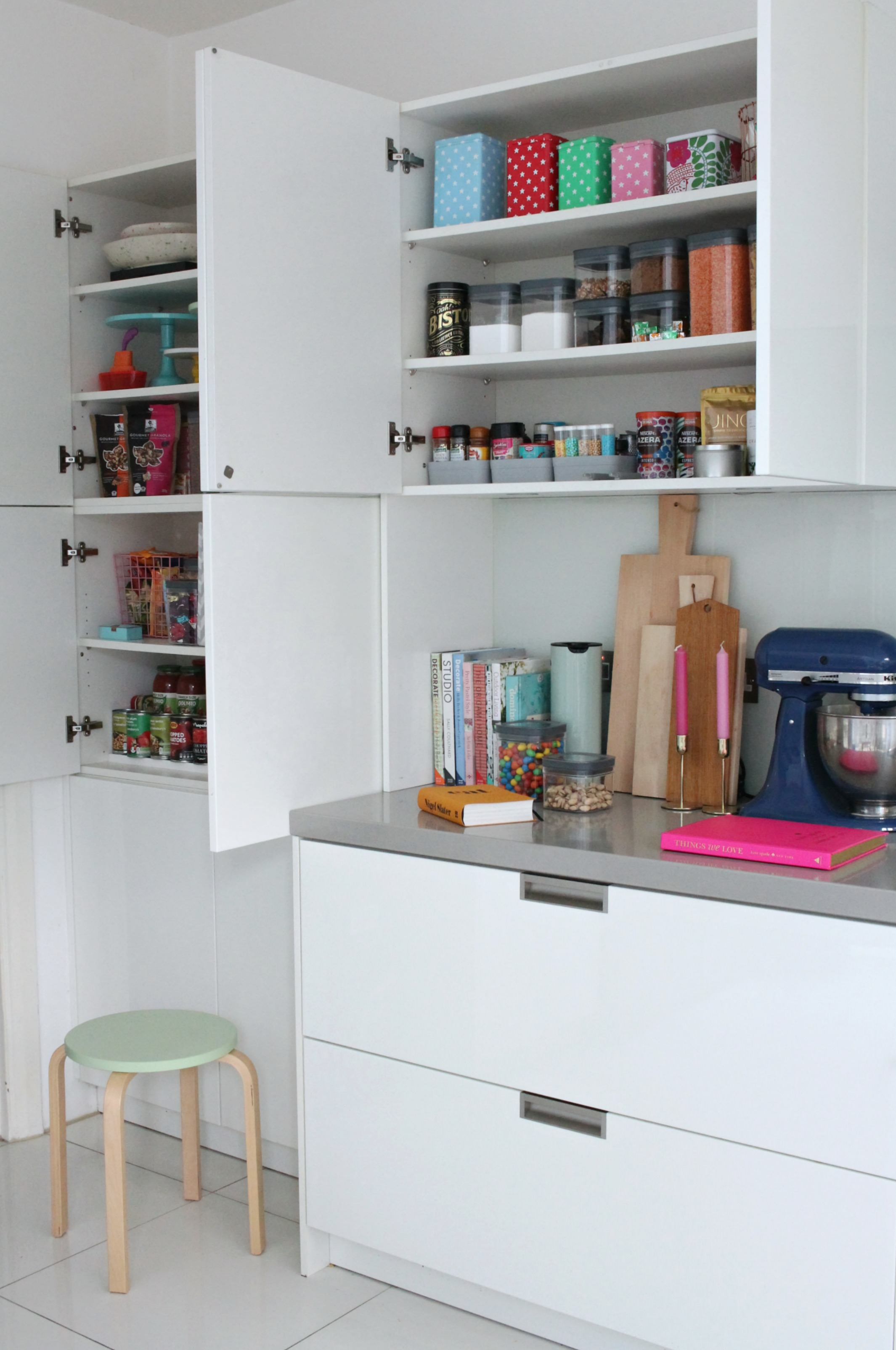 kitchen storage solutions cabinet repainting littlebigbell how to organise