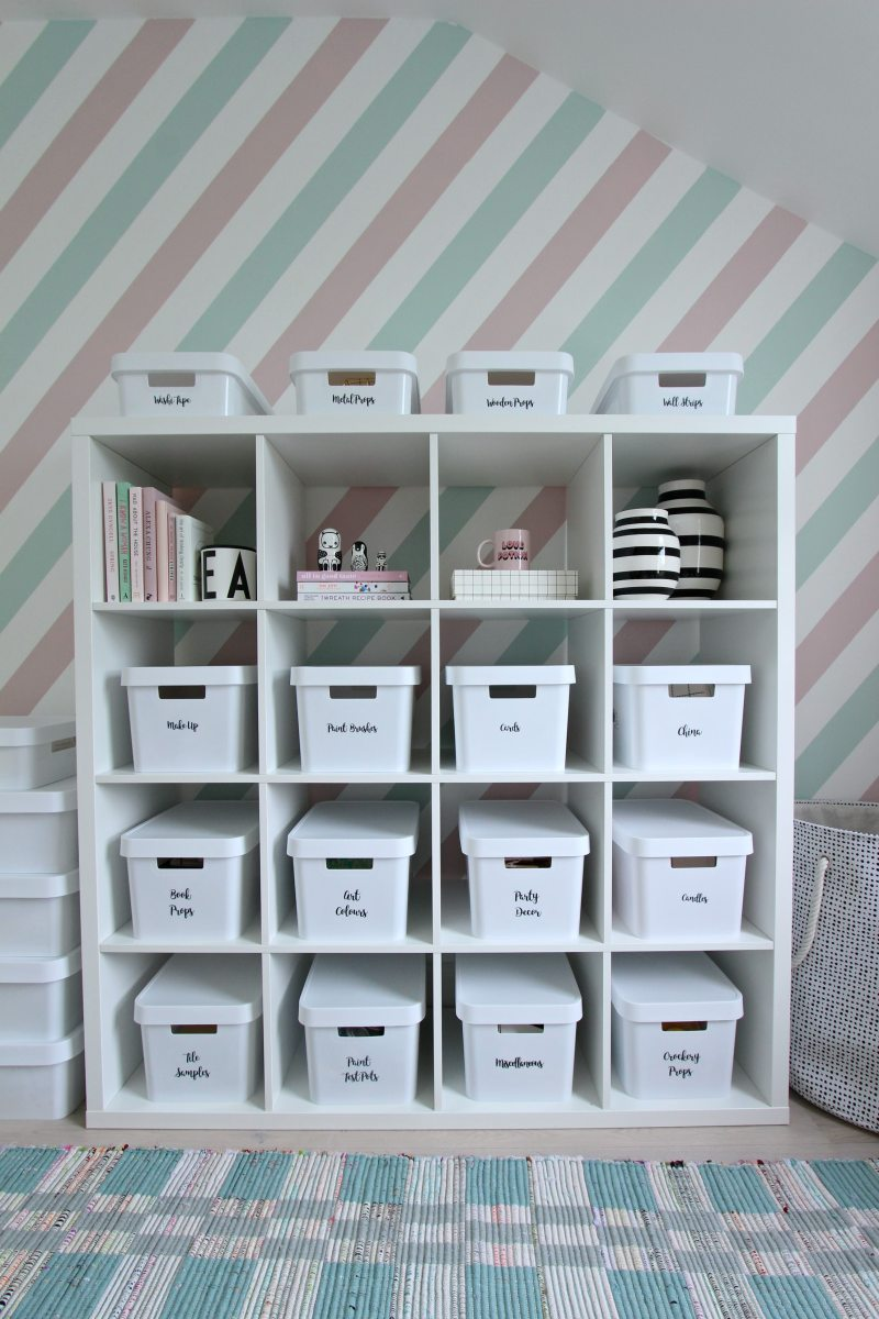home storage with Curver