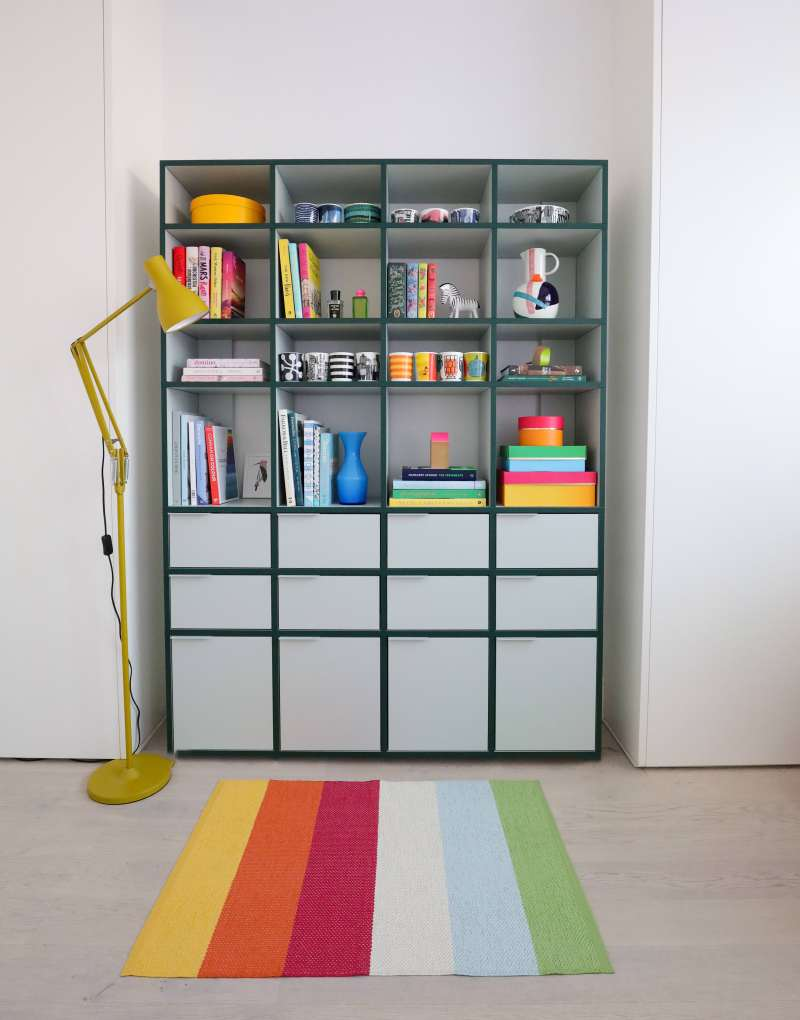 stylish storage for the home shelving
