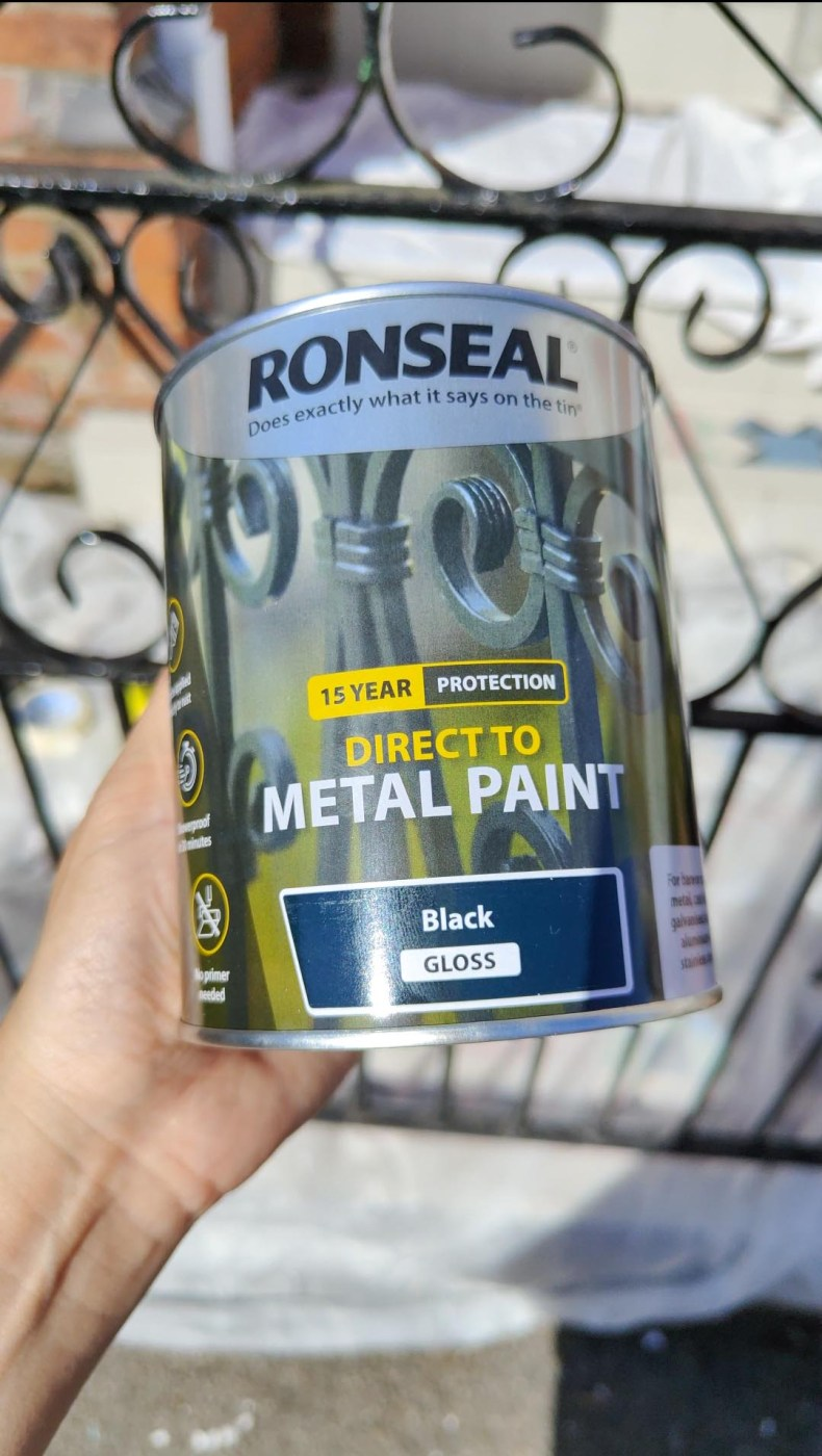 Direct to Metal paint by Ronseal