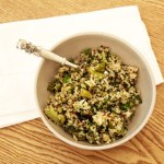 Green Vegetable Quinoa Salad