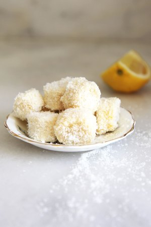 Coconut covered banana - perfect for babies - it makes it easy for them to grip