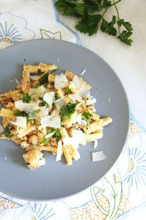 pasta-cauliflower-pancetta