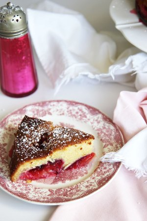 Italian Plum Cake - the best cake recipe I have!