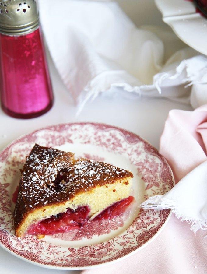 Italian Plum Cake - the best cake recipe I have!