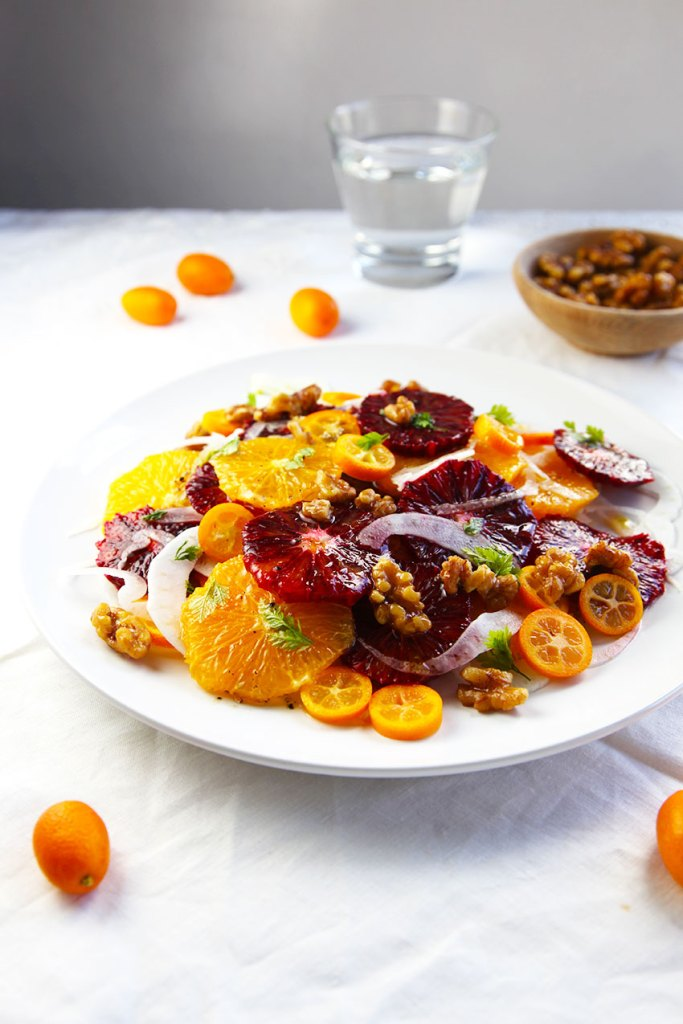 Citrus Salad with Fennel and Walnuts