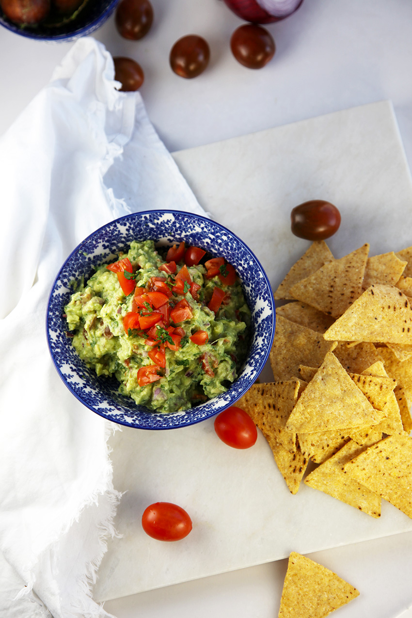 Chunky guacamole - perfect toddler friendly food