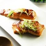 Teriyaki Salmon - only 4 ingredients