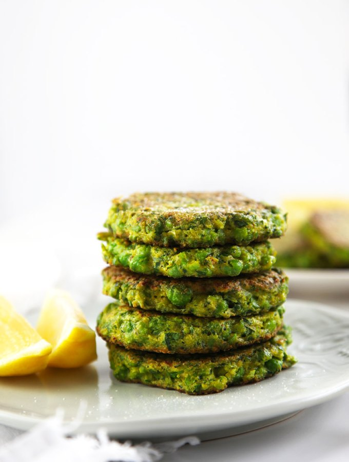 Pea and Broccoli Fritters