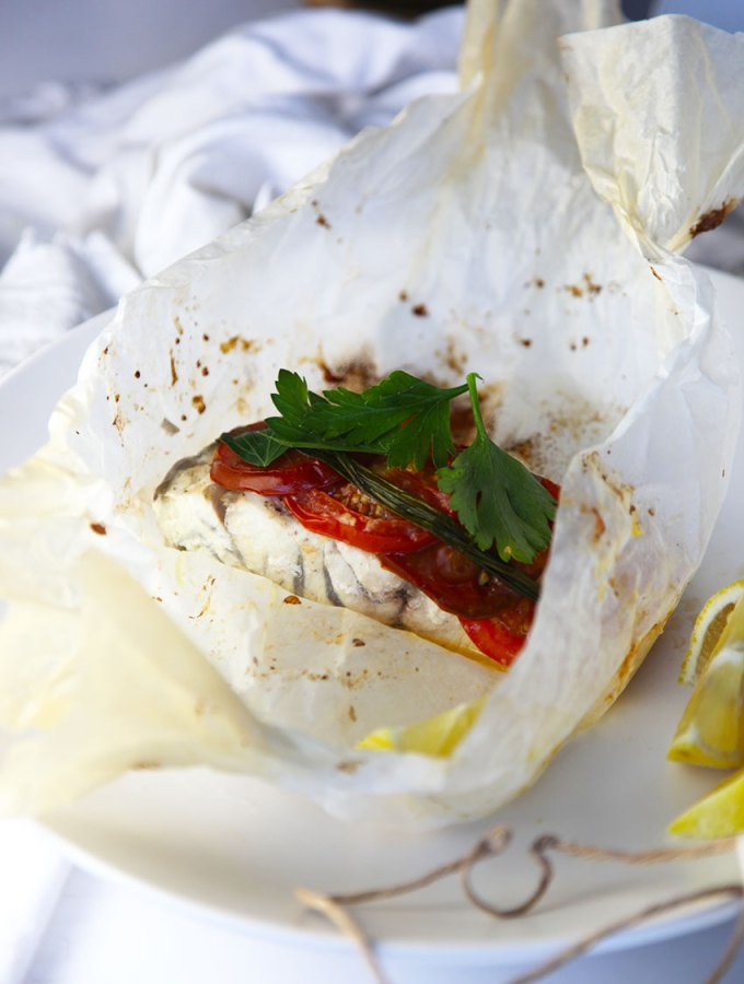 Baked Fish Parcels