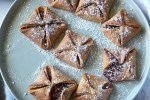 Jam Filled Ricotta Pastries - the pastry is sugar-free and you could use fresh fruit rather than the jam if you prefer