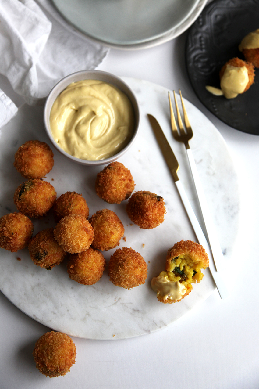 Asparagus Arancini - be sure to make extra risotto so you can make arancici the following night - winning...