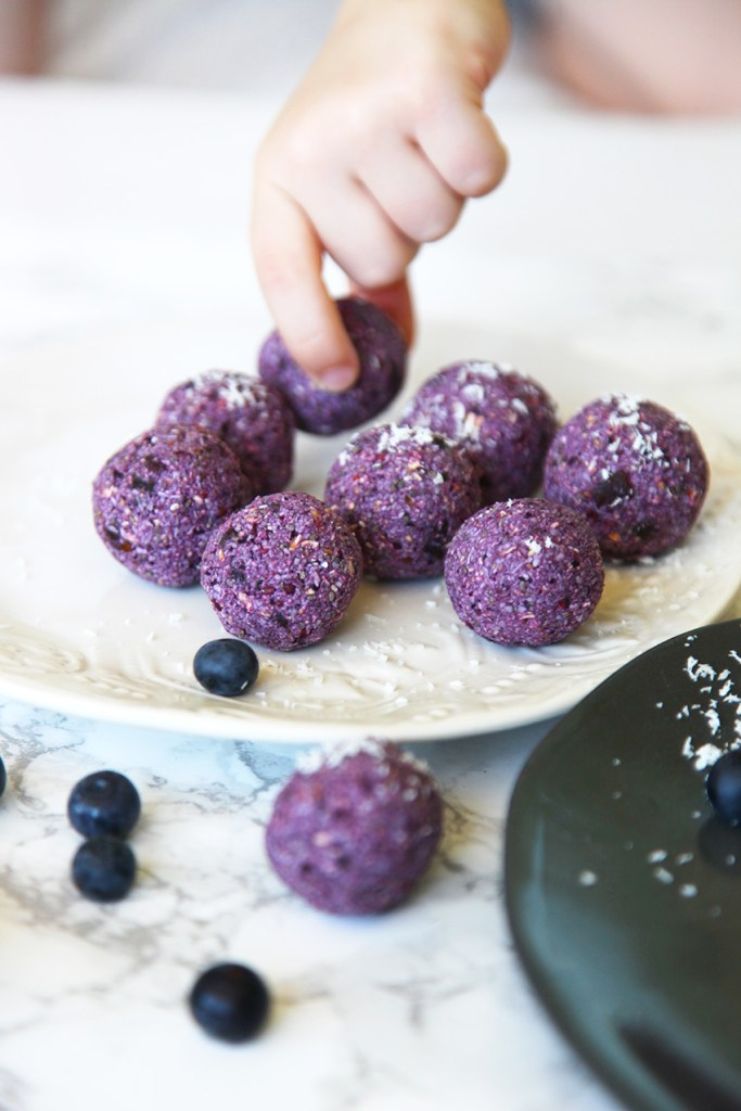 Berry Bliss Balls (nut free)