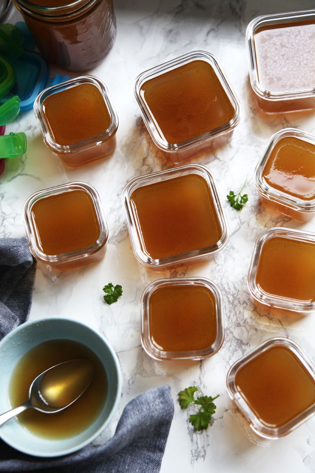 Make your own gut healing bone broth at home.