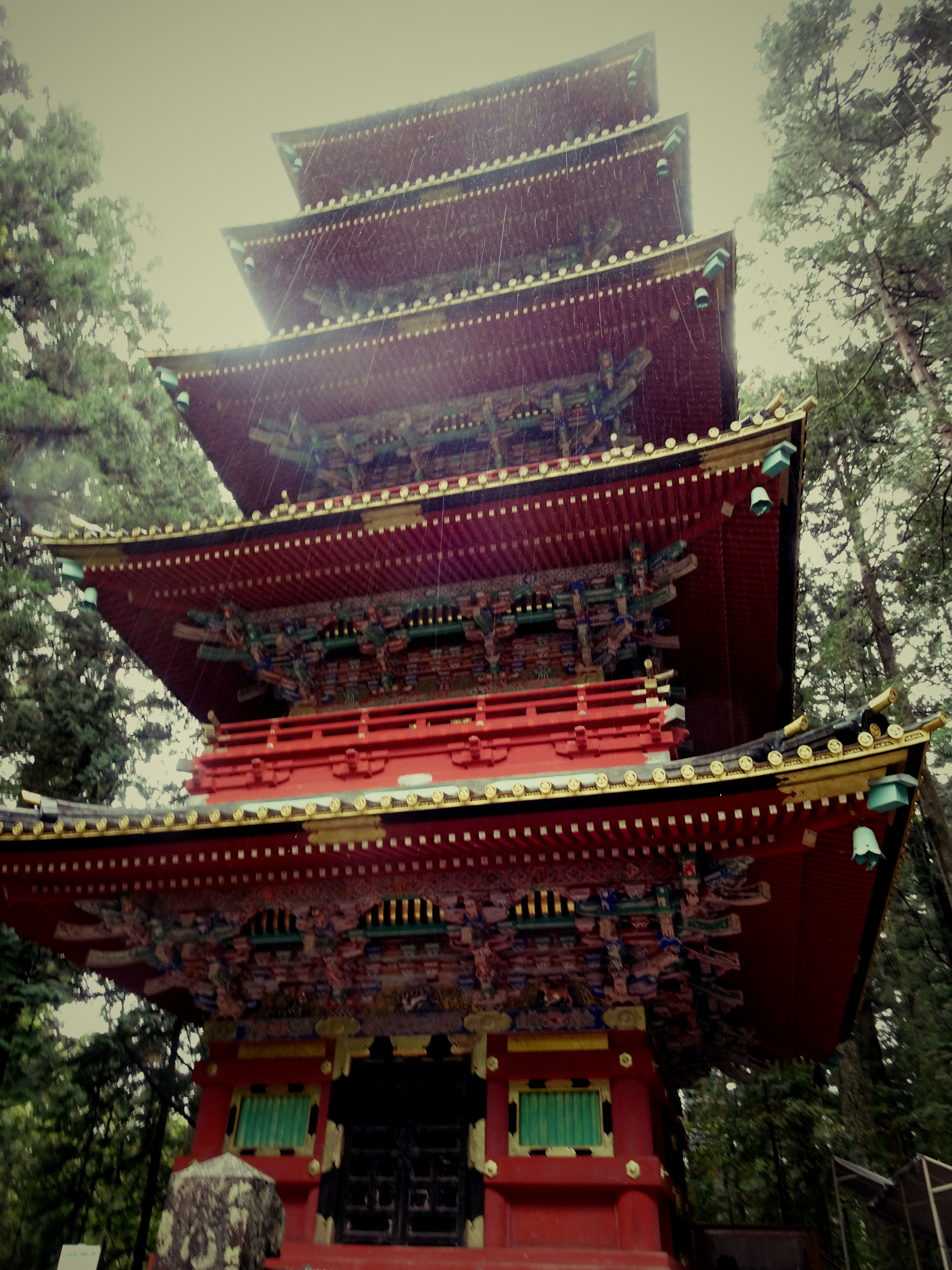The 5-storey pagoda at Tosho-gu temple in Nikko