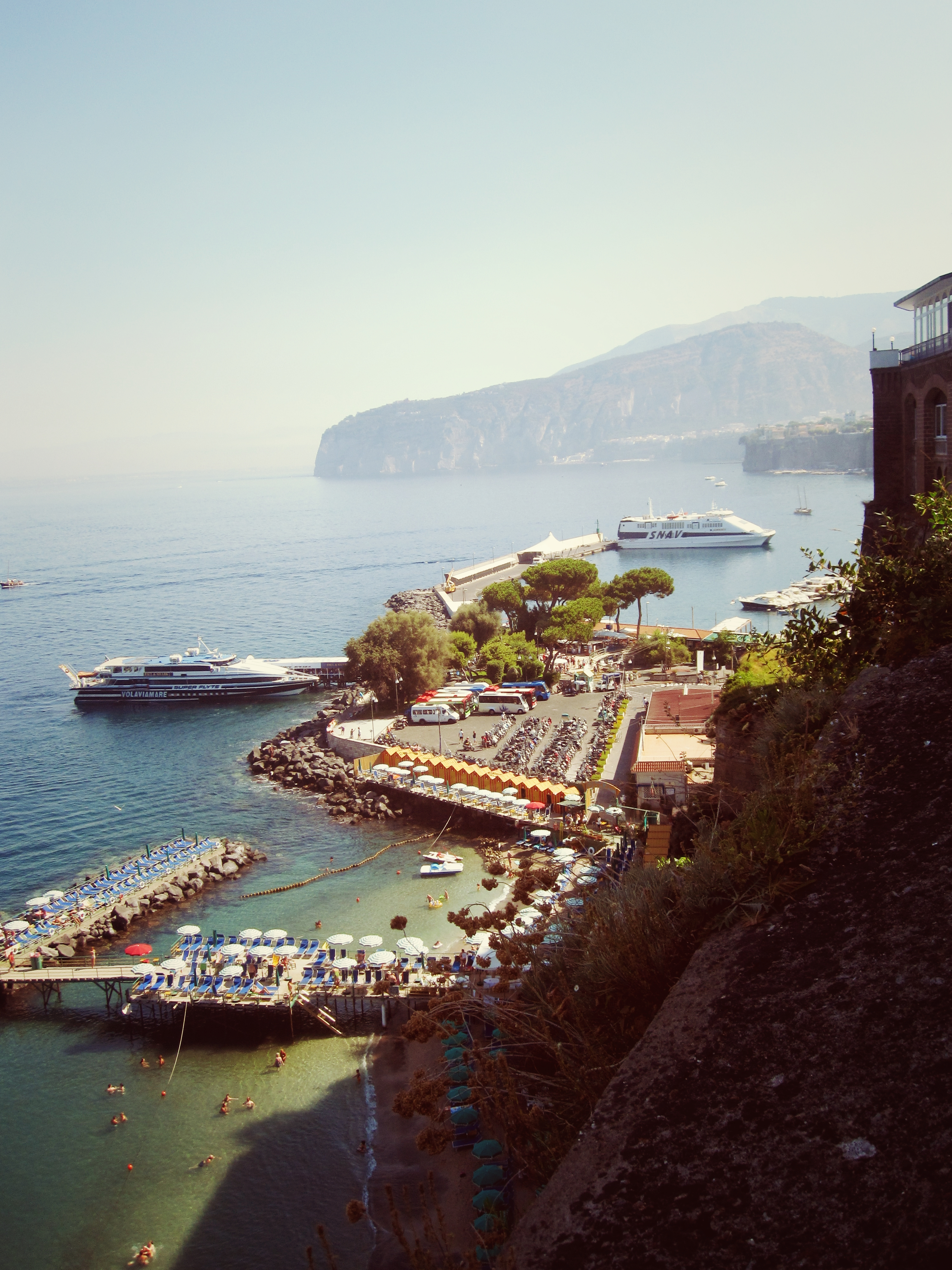 The bay of Sorrento