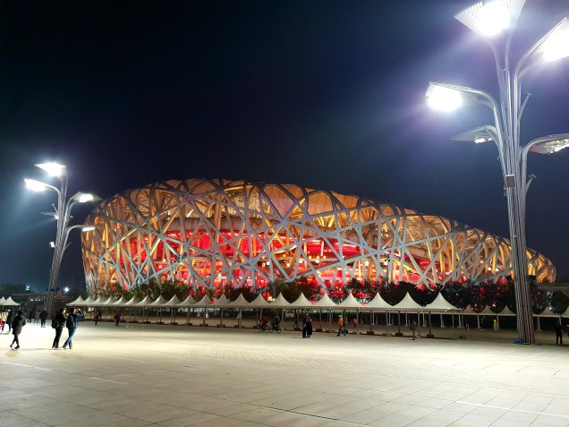 The Birds Nest, the focal point of the 2008 Beijing Olympic Games