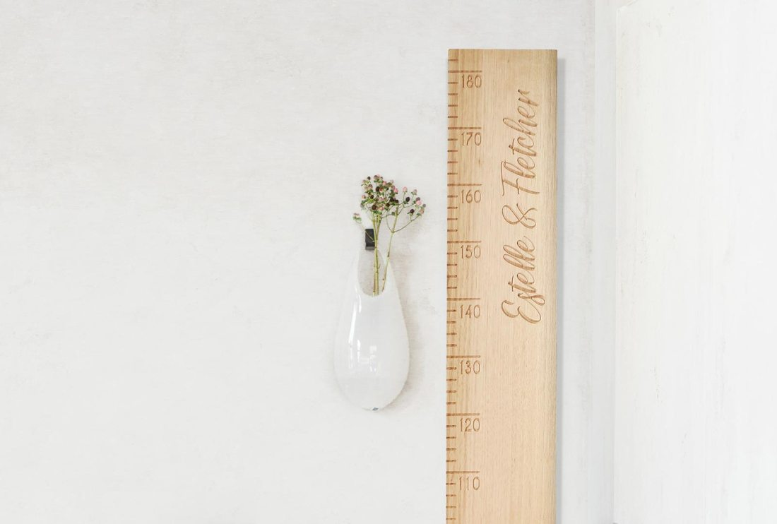 Create Memories with Wooden Height Charts