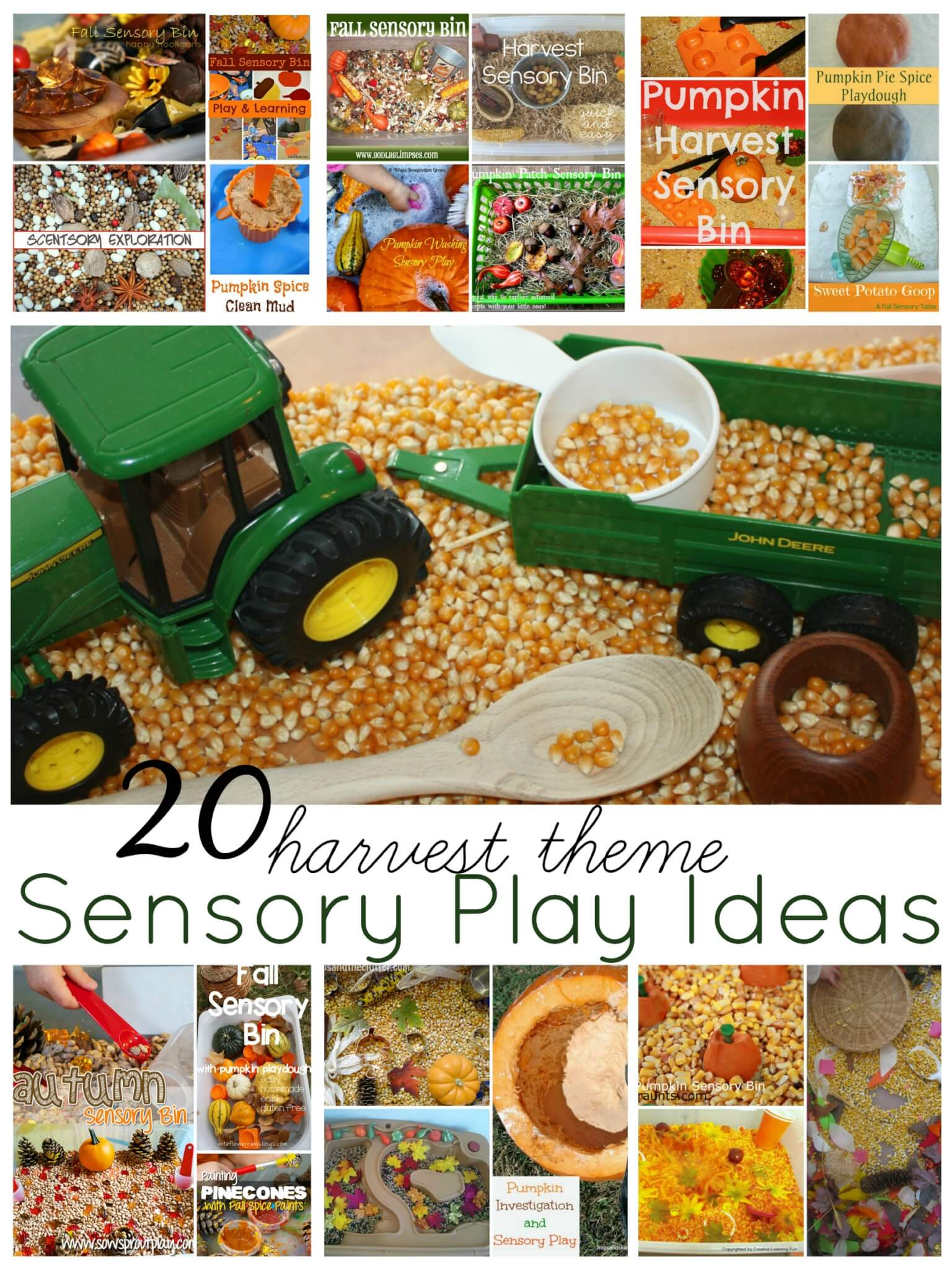 Fall Harvest Sensory Bin Play Ideas Amp Activities Ultimate Sensory Play Party 13