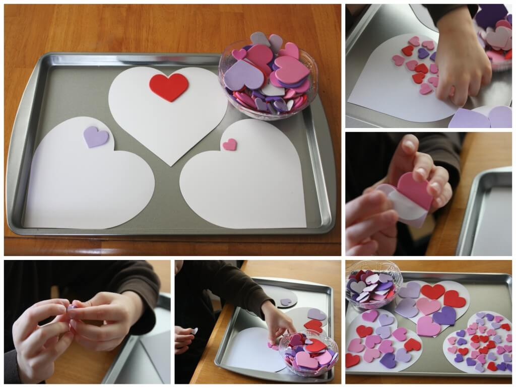Sweet Treat Valentines Fine Motor Skills Activities