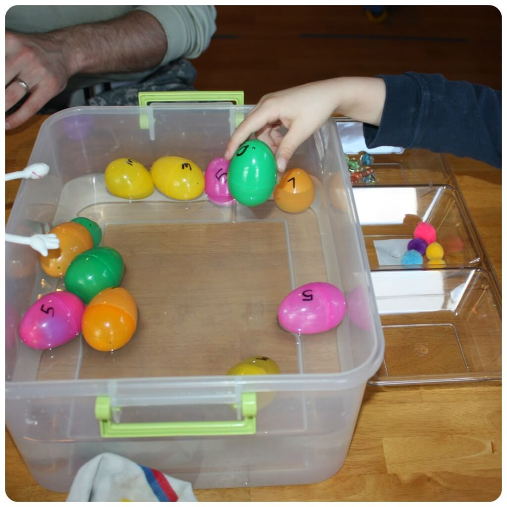 Egg Science Water Experiment Sink And Float