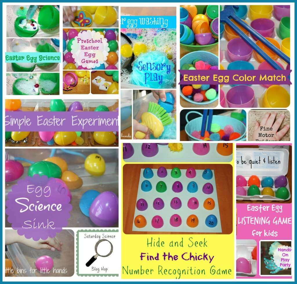 Ultimate Plastic Egg Activities Party