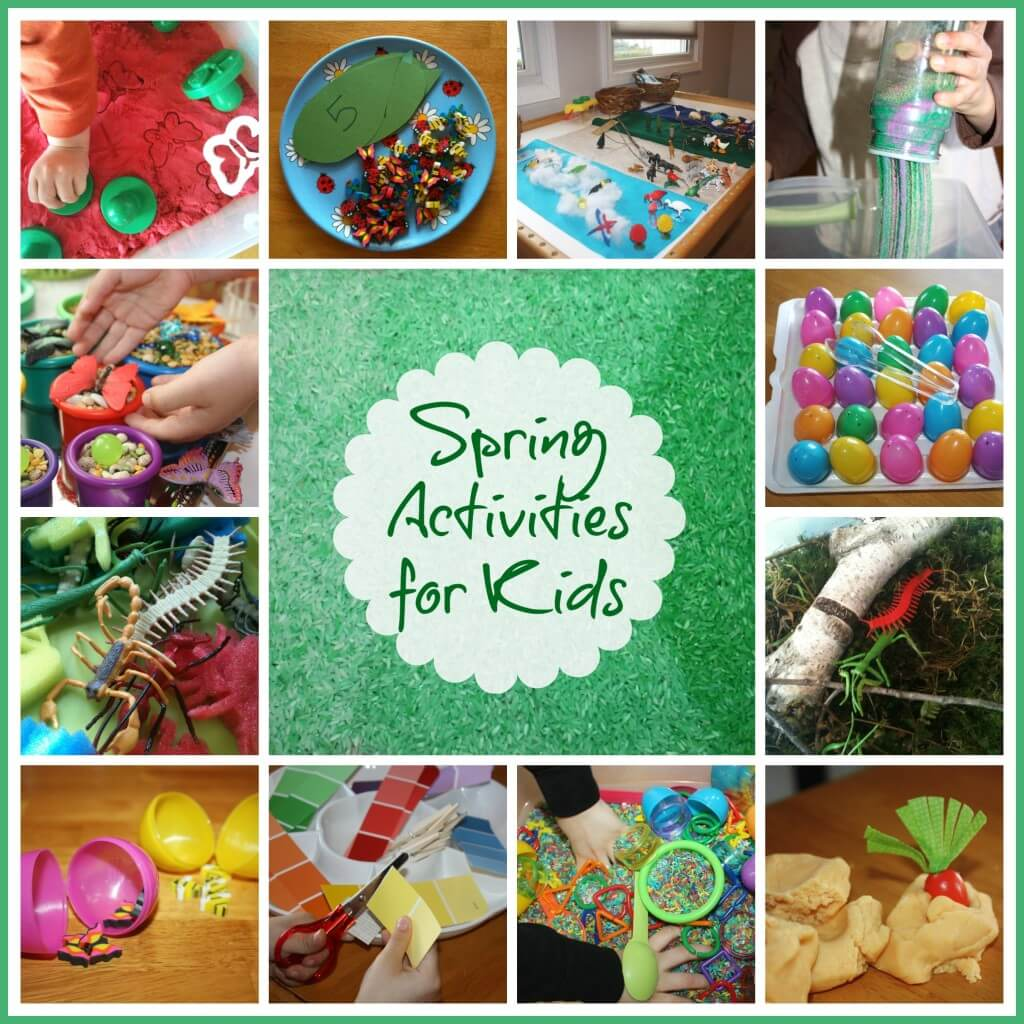 Nature Sensory Bin And Throw It Together Tuesday Trays