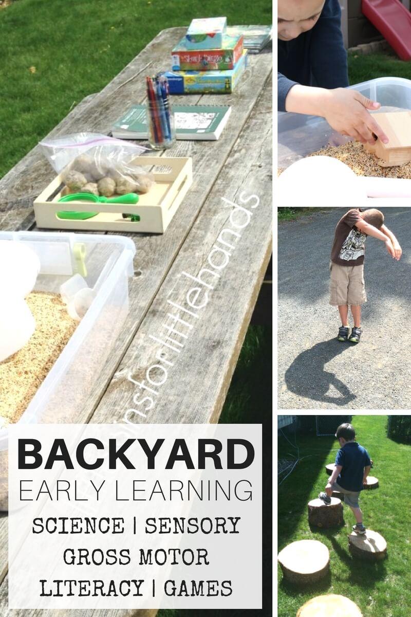 backyard activities for nature
