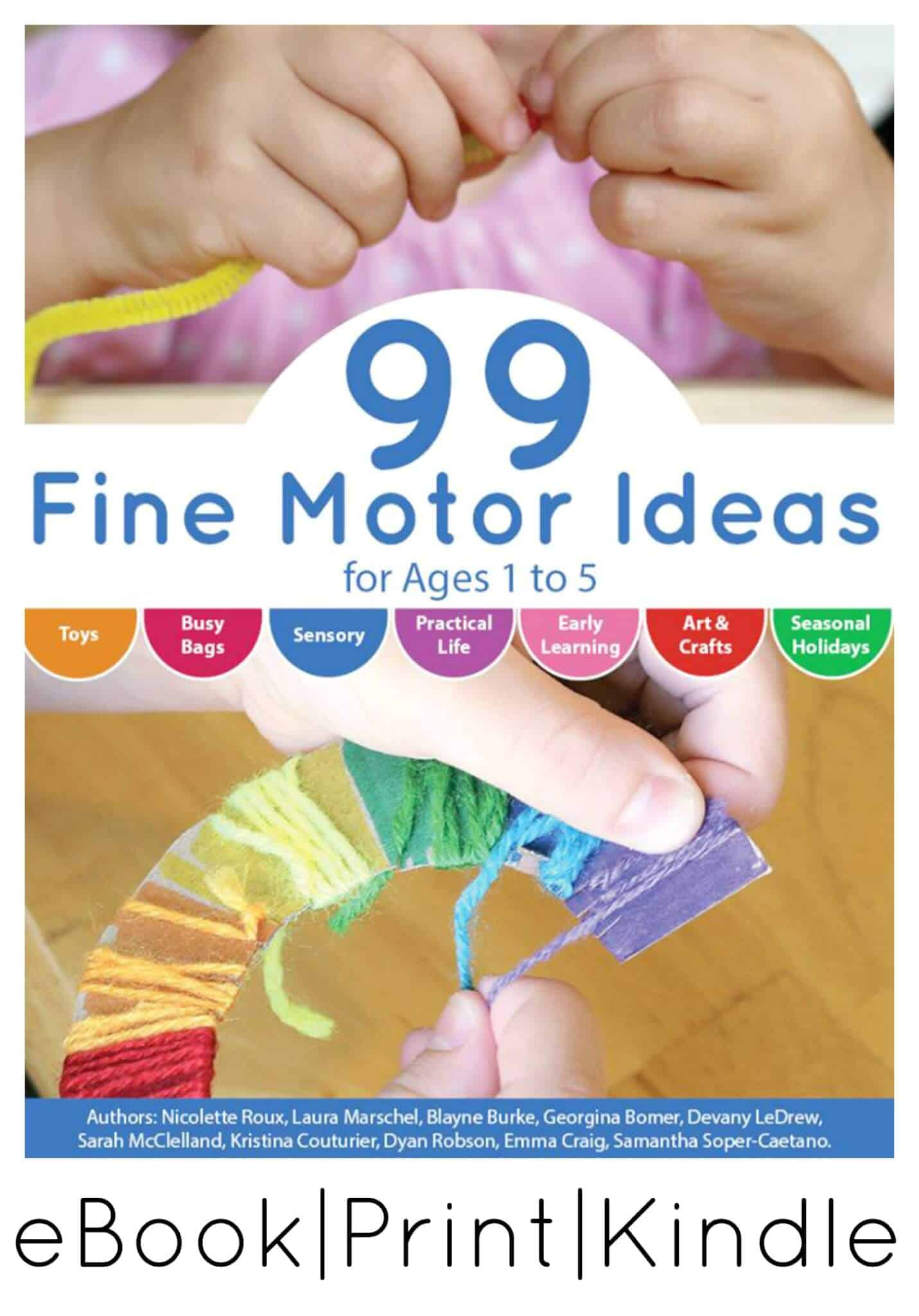 Fine Motor Activities Book For Ages 1 To 5