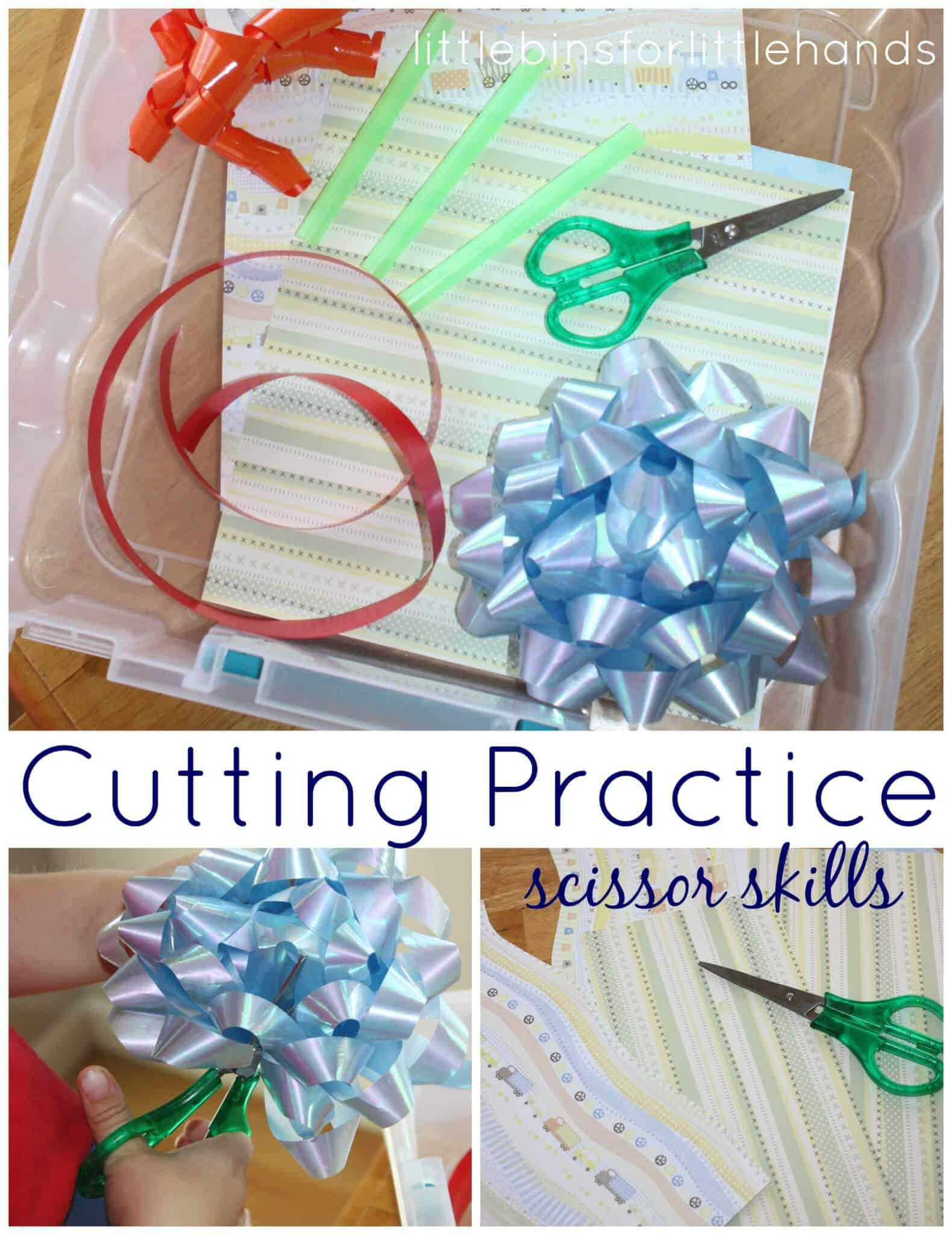 Scissor Activities Cutting Practice For Kids