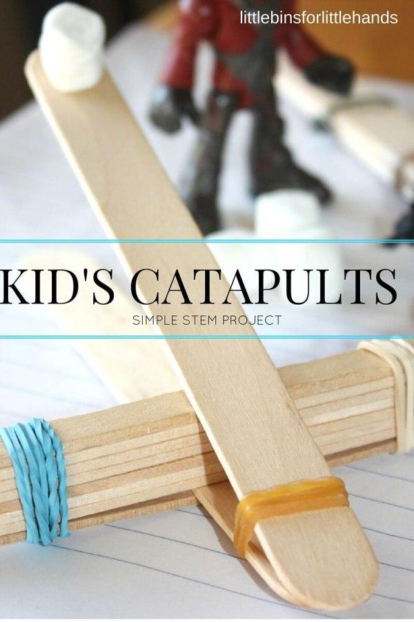 Stem Projects for Kids Popsicle Sticks