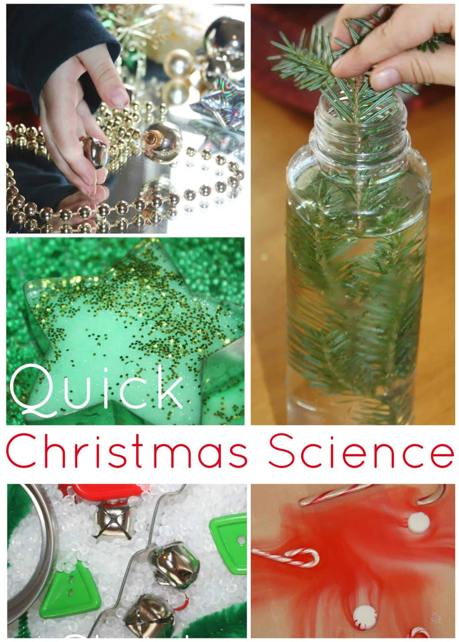Science Christmas Activities For Kids Quick And Easy