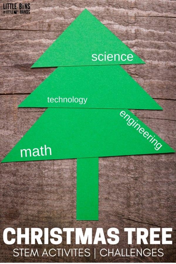 Melting Christmas Tree Baking Soda Science Sensory Play