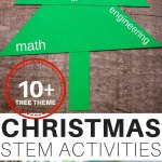 Christmas Stem Activities Challenges Little Bins For Little Hands