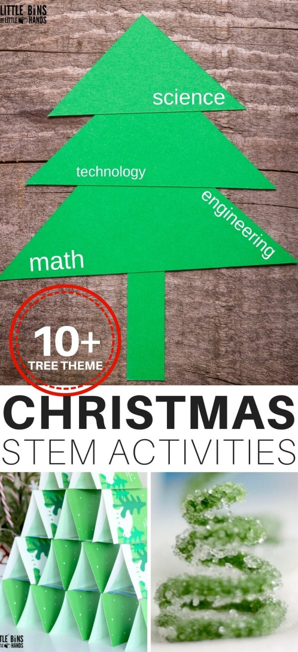 Christmas Stem Ideas Engineering Trees