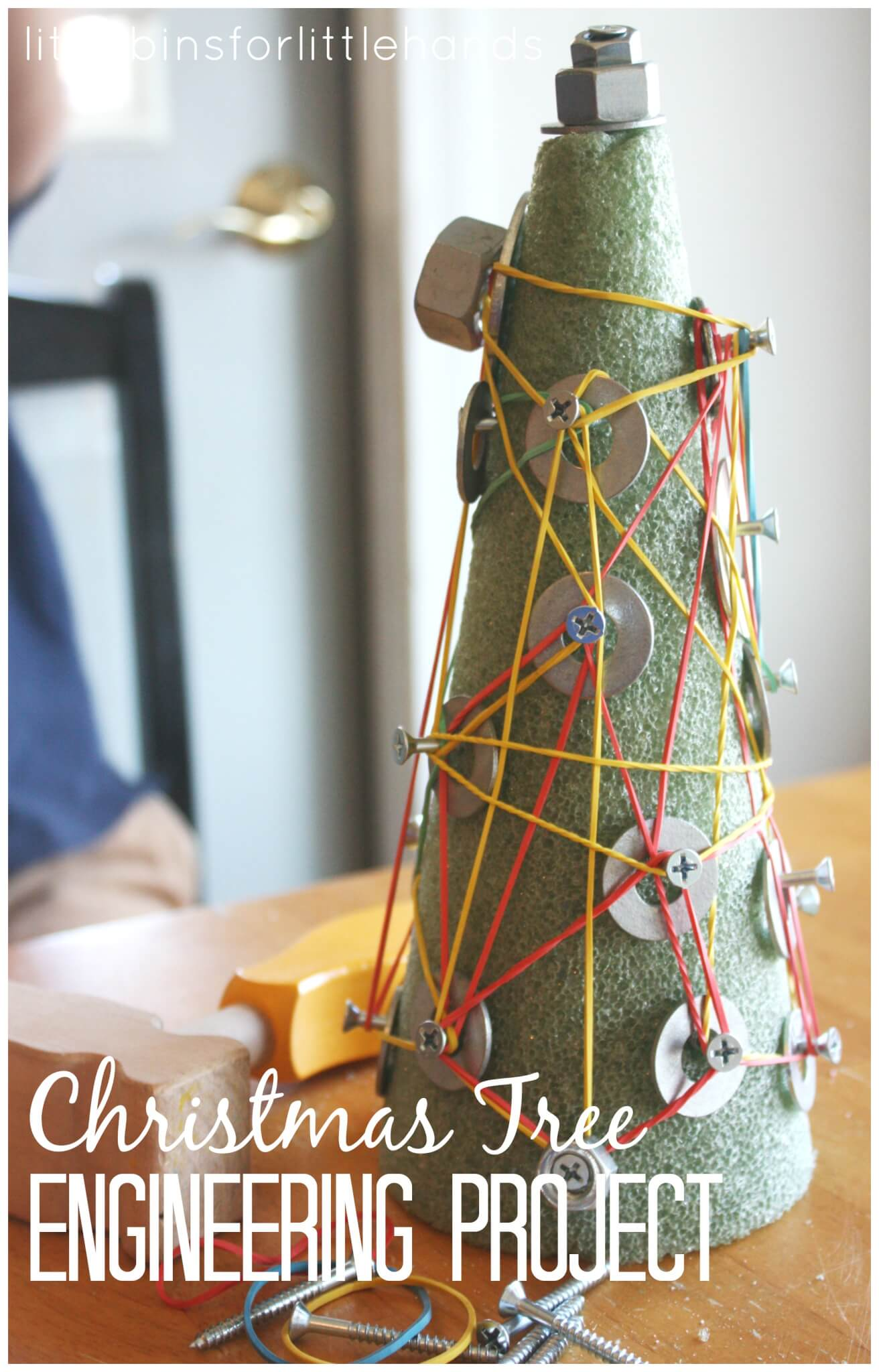 Christmas Tree Engineering Project For Kids