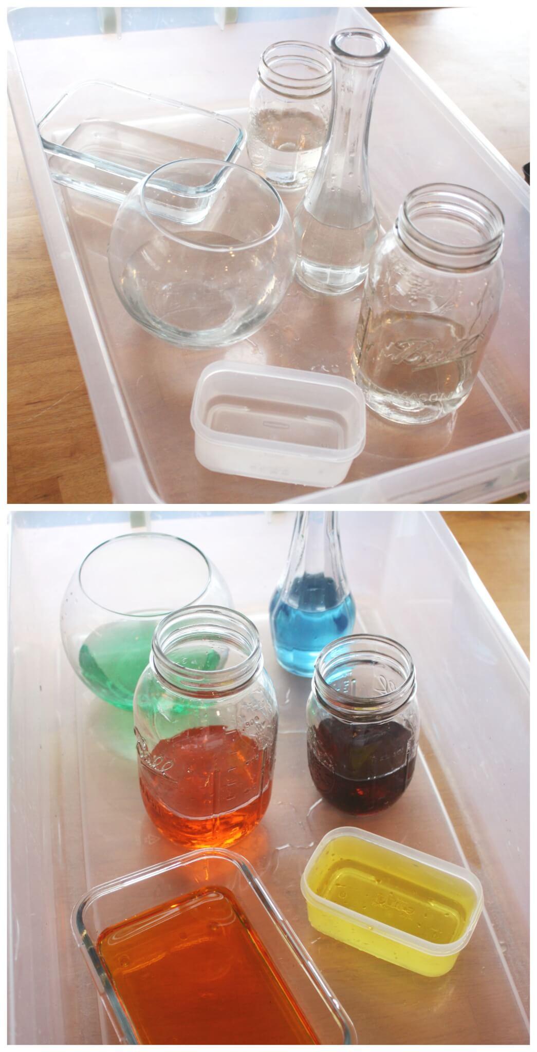 Volume Science Experiment Stem Activity For Kids