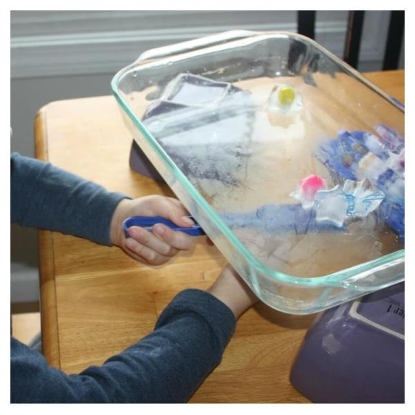 Magnetic Ice Science Activity Preschool And
