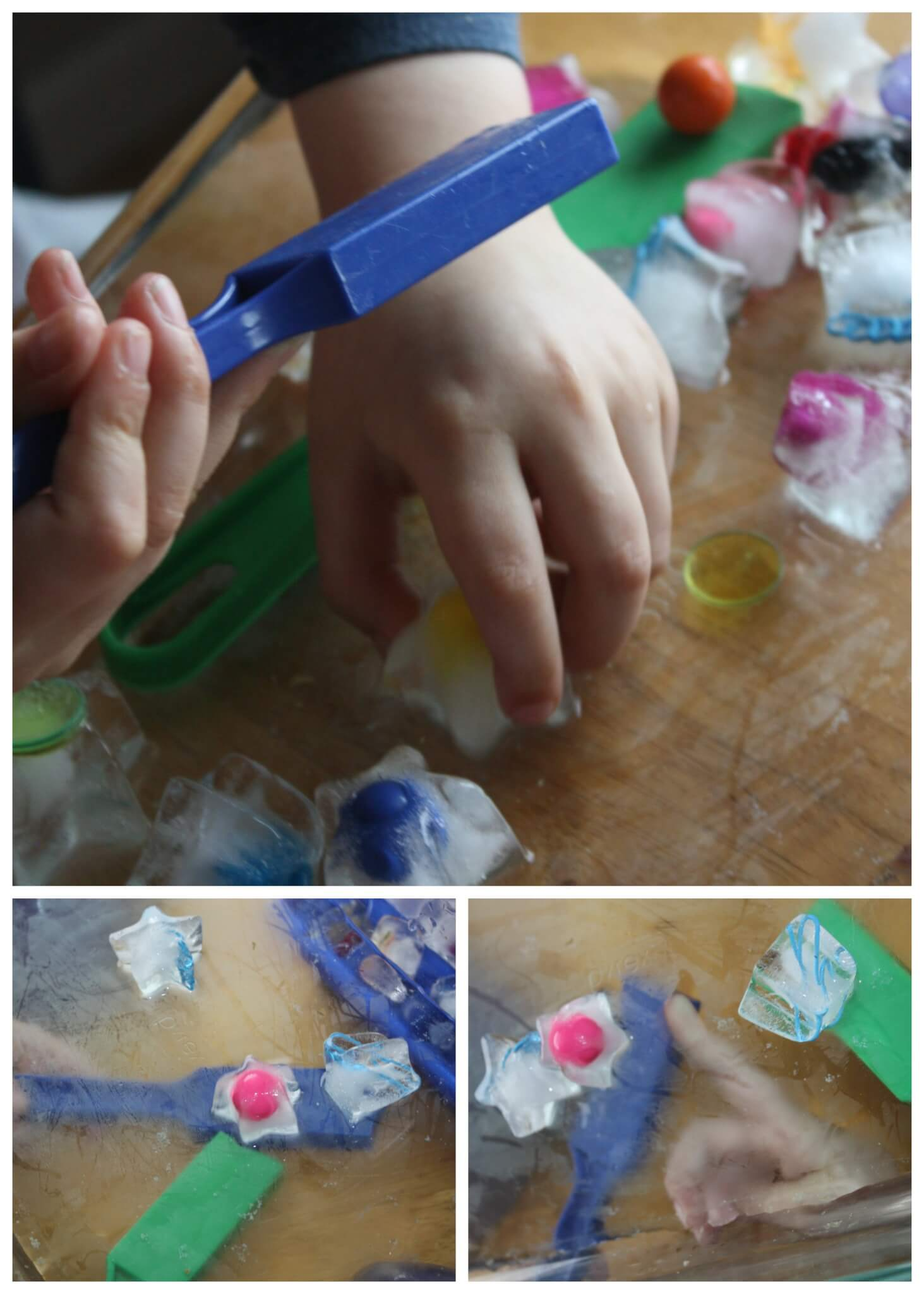 Magnetic Ice Science Activity For Preschool And