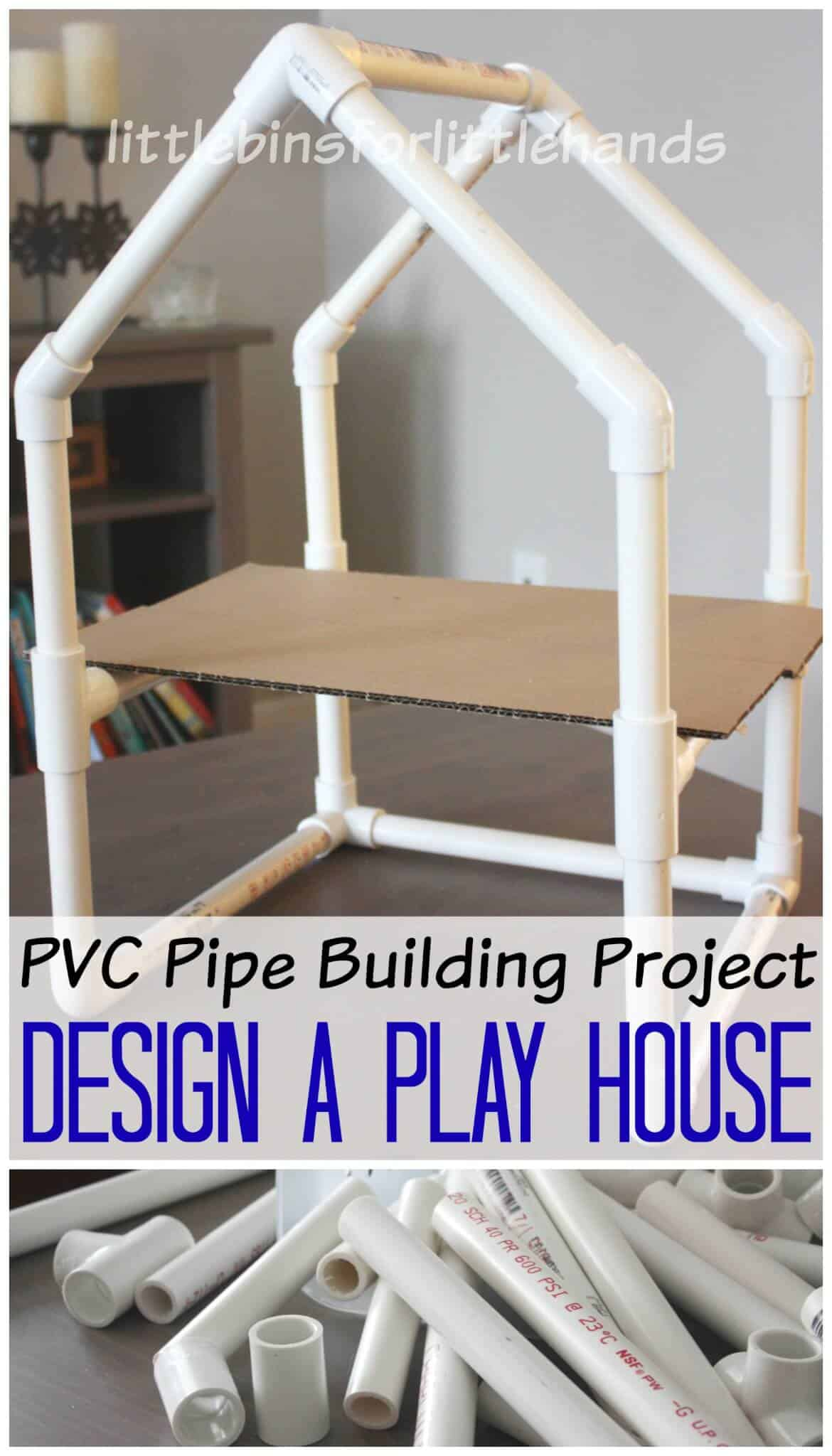 Pvc Pipe House Building Project Stem Engineering Activity