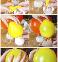 balloon science inflating balloons experiment baking soda vinegar balloon activity [ 1205 x 2048 Pixel ]