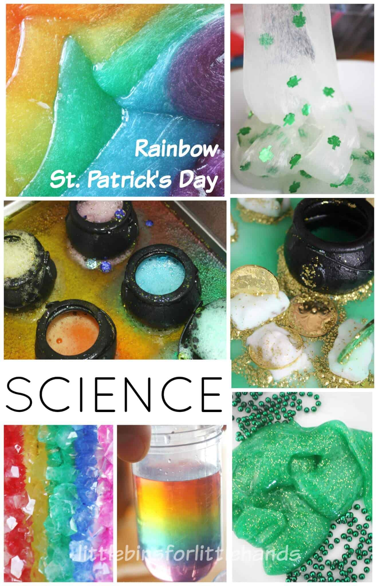 Rainbow Science Experiments And Stem Ideas St Patricks Day