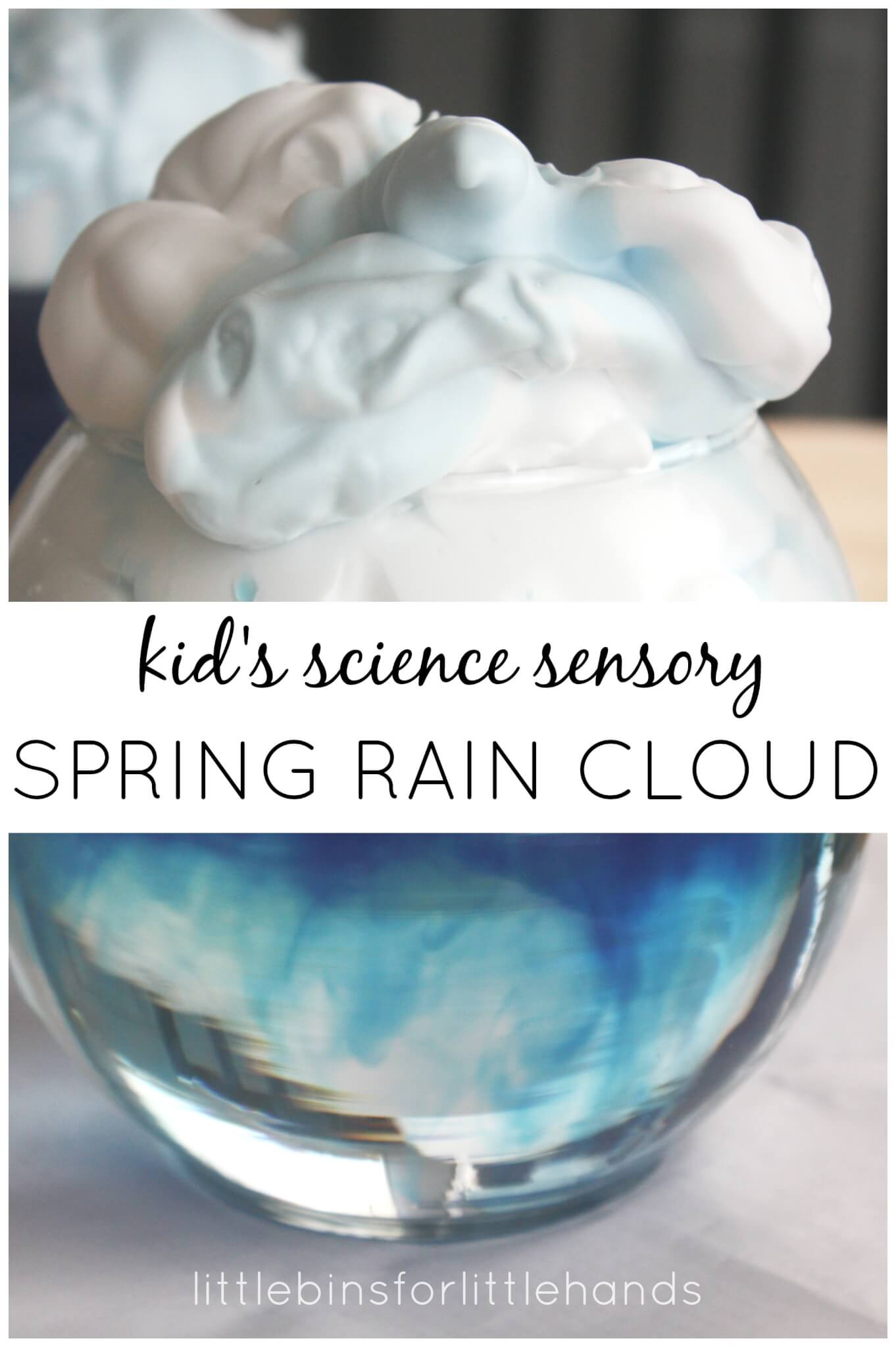 Rain Cloud Spring Science Weather Activity For Kids