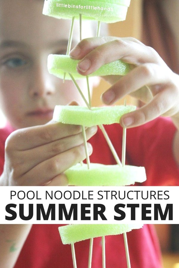 Pool Noodle Structures Building Toothpick
