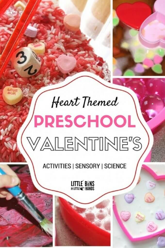 Preschool Valentines Day Activities And Experiments