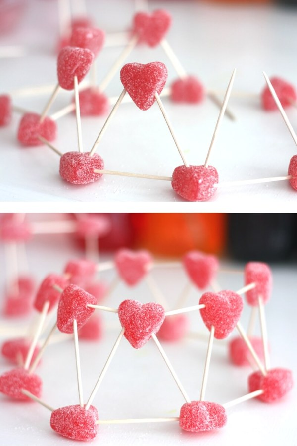 Valentines Day Candy Structures Stem Activity Kids